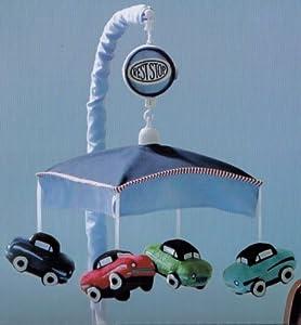 Bananafish Rest Stop Cars Musical Mobile