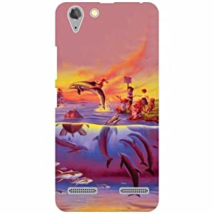 Lenovo Vibe K5 Plus Printed Mobile Back Cover