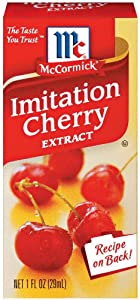 McCormick Imitation Cherry Extract 1-Ounce Unit (Pack of 6)