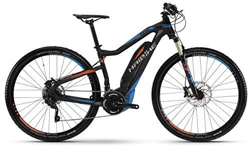E-Bike Haibike SDURO HardNine RX 400Wh/250Watt/36V 29' 20-Gang schwarz/blau/rot matt