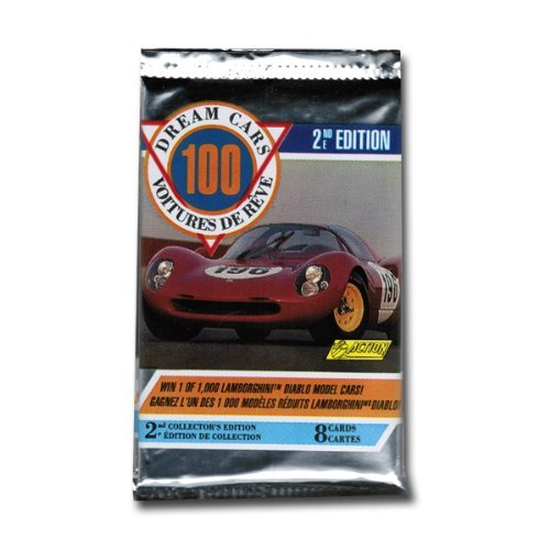 Dream Cars 2nd Edition Trading Cards Single Pack - 8 Cards per Pack
