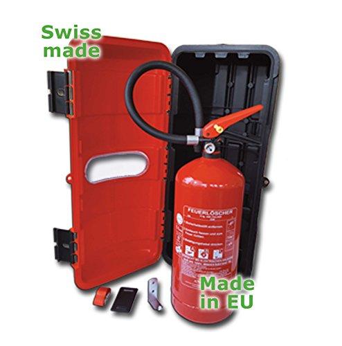 Swiss-EU-Made-Feuerlscherkasten-Schrank-Box-6kg-ABC-Pulver-Feuerlscher
