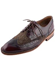 D.Desire Men's Leather Formals & Lace-Up Flats - B00Y1EJ688