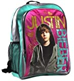 Justin Bieber Backpack - Turquoise