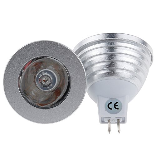 S6Store® Mr16 3W Rgb 16 Colors Changing Remote Control Holiday Flash Party Led Spot Downlight Christmas
