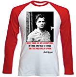 Jack Kerouac Quote - Red Long Sleeves T-Shirt