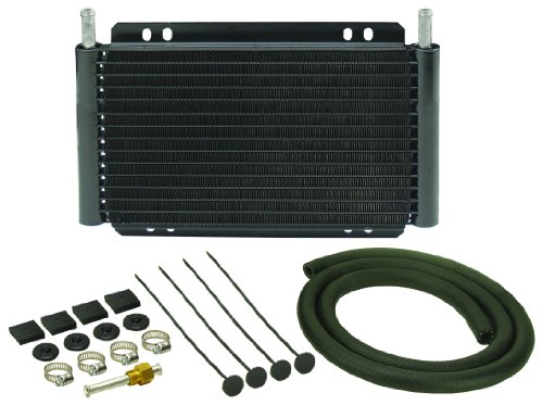 Derale 13502 Series 8000 Plate and Fin Transmission Oil Cooler