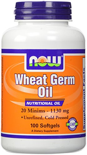 Now Foods, Wheat Germ Oil, 20 Minims, 1130mg Softgels, 100-Count