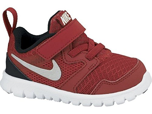 Nike Kids Flex Experience 3 Running Shoes Red/Black/White 9 Kids US