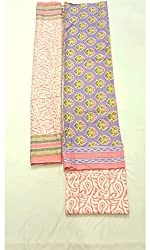 BEAUVILLE VAIIBAVAM Women's Unstiched Salwar Material (BVPCUC_15_Multi_Free Size)