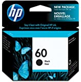 Hewlett Packard HP60 Black Ink Cartridge