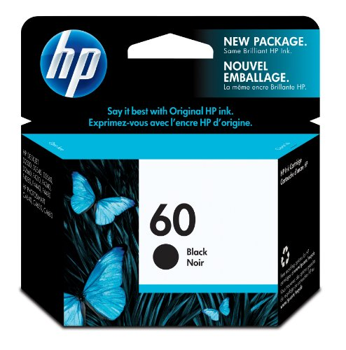 Hp 60 (Cc640Wn) Black Original Ink Cartridge front-887994