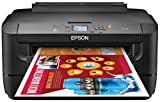 Epson WorkForce WF-7110 Wireless and WiFi Direct, Wide-Format Color Inkjet Printer, 2-Sided Auto Duplex. Prints from Tablet/Smartphone. AirPrint Compatible. (C11CC99201)
