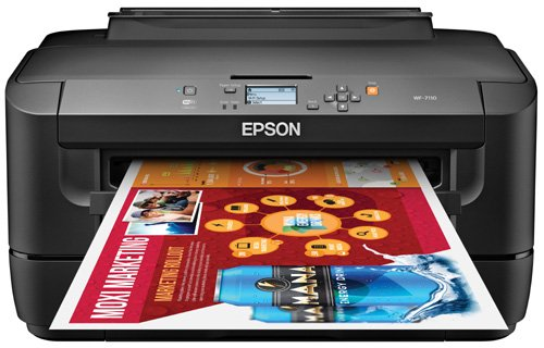 Lowest Prices! Epson WorkForce WF-7110 Wireless and WiFi Direct, Wide-Format Color Inkjet Printer, 2...
