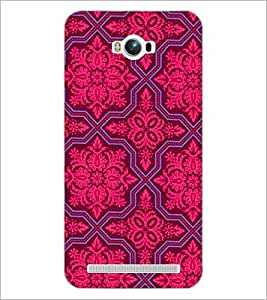 PrintDhaba Pattern D-2150 Back Case Cover for ASUS ZENFONE MAX ZC550KL (2016) (Multi-Coloured)