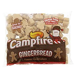 Campfire Gingerbread Flavored Marshmallow, (3) 8 oz Bags
