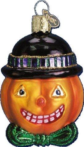 The Glass Jack O' Lantern Halloween Ornament