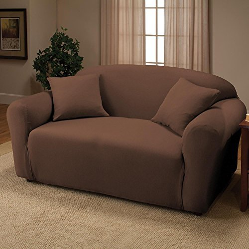 jersey-stretch-love-seat-protector-slip-cover-70-x-120-chocolate-by-kashi