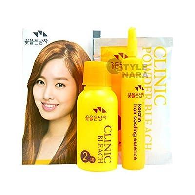 HAIR CLINIC POWDER BLEACH KIT Professional Dye Color Lightener Lightening highlights