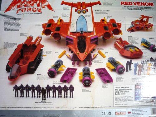 Manta Force Toys Manta Force Red Venom