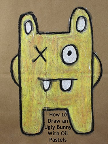 How to Draw an Ugly Bunny With Oil Pastels