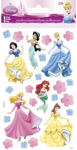 Disney Princess Slim Stickers 3