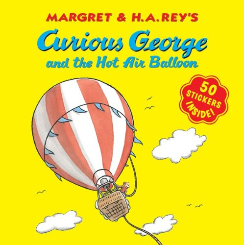 Curious George and the Hot Air Balloon (Curious George (Cgtv 8x8)) (Curious George 8x8)