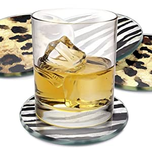 Call of the Wild Drink Coasters, Set of 4