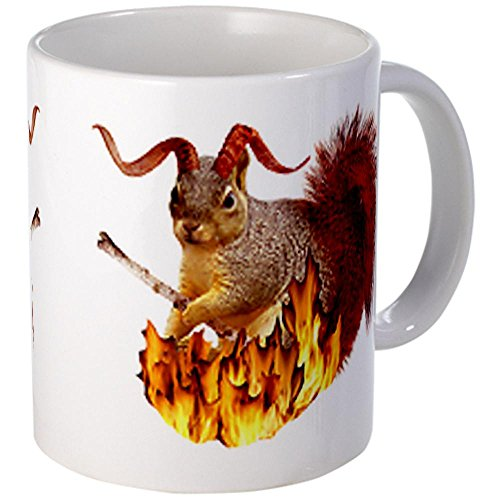 Cafepress Krampus Squirrel Mug - S White