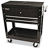 27-Inch 2-Drawer Tool Cart