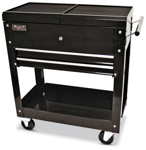 HOMAK BK06022704 27-Inch 2-Drawer Tool Cart