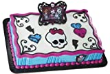 Monster High Picture Frame and Skullette Cake Topper