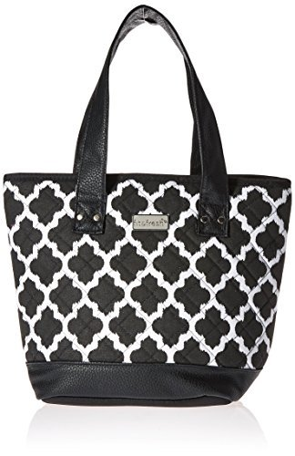 fit-and-fresh-signature-collection-melbourne-insulated-lunch-bag-black-and-white-ikat-black-by-fit-f