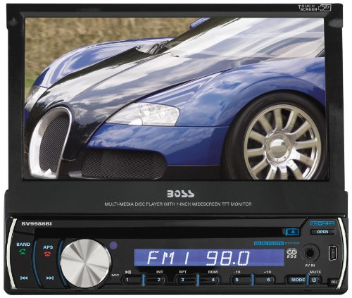 BOSS Audio BV9982I In-Dash Single-Din Detachable 7-Inch Touchscreen Player Receiver