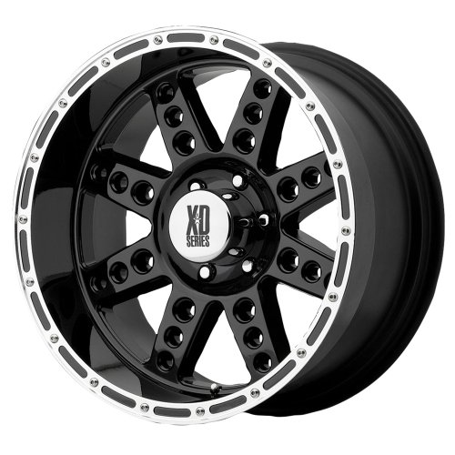 22X14 Kmc Xd Diesel (Gloss Black) Wheels/Rims 5X135 (Xd76622413376N)