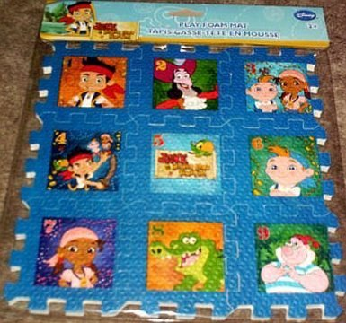 Jake & the Never Land Pirates Play Mat Foam Puzzle - 1