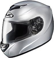 HJC Helmets CS-R2 Helmet (Silver, Large) from HJC Helmets