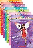 Rainbow Magic Princess Fairies Complete 7 Book Set (Books 1-7, Includes: Hope the Happiness Fiary; Cassidy the Costume Fairy; Anya the Cuddly Creatures Fairy; Elisa the Royal Adventure Fairy; Lizzie the Sweet Treats Fairy; Maddie the Fun and Games Fairy; Eva the Enchanted Ball Fairy)