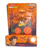 Fisher Price Little People Disney Wheelies Cowboy Woody Halloween