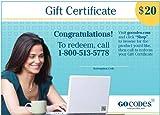 GoCodes® $20 Gift Certificate