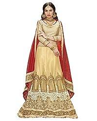 Silvermoon women's Net Embroidered heavy lehenga choli-sm_smGLFA5308_Beige_free size