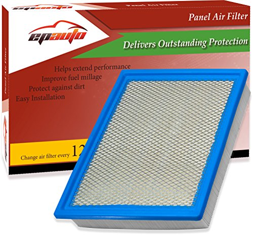 EPAuto GP883 (FA1883) Ford Rigid Panel Engine Air Filter for Expedition (2007-2017), F-150 (2009-2017), F-250 Super Duty (2008-2017), F-350 Super Duty (2008-2017), Navigator (2007-2017)