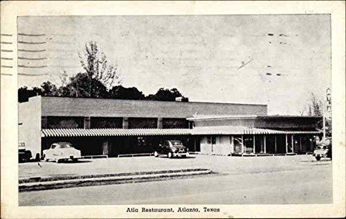 Atla Restaurant Other Texas Cities Texas Original Vintage Postcard