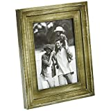 Aapno Rajasthan Rustic Finish Wooden Photo Frame (Olive Green)