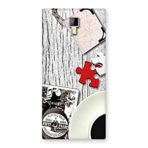 Impressive Vintage Style Multicolor Back Case Cover for Micromax Canvas Xpress A99