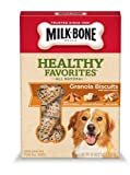 Milk-Bone Healthy Favorites Granola Dog Biscuits With Real Chicken, 18-Ounce (Pack of 3)