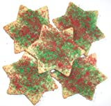 Scott's Cakes Red and Green Christmas Star Cookies 5 lb. Box