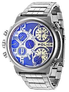 Police P13595JS-04MB Reloj de caballero