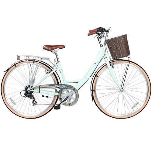 28 Zoll Viking Valencia 6 Gang Citybike Stadt Fahrrad Damenrad Damenfahrrad, Rahmengrösse:16 Zoll