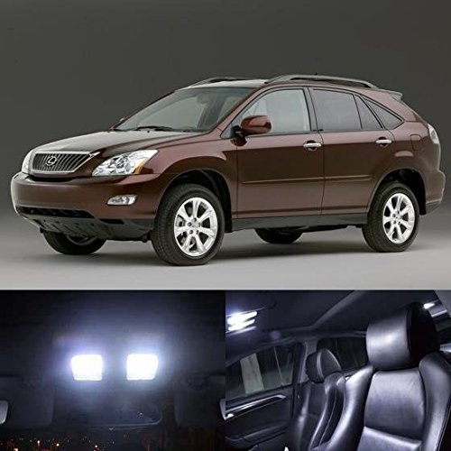 partsam-13pcs-white-interior-led-light-package-kit-for-2004-2008-lexus-rx330-rx350-rx400h-by-partsam